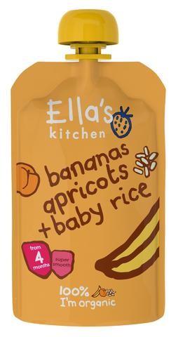 Bananas, Apricots & Baby Rice