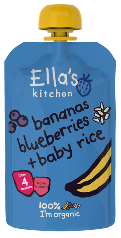 Bananas, Blueberries & Baby Rice