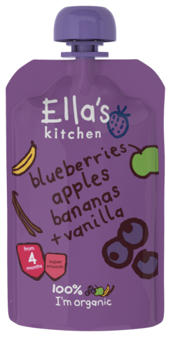 Blueberries, Apples, Bananas & Vanilla