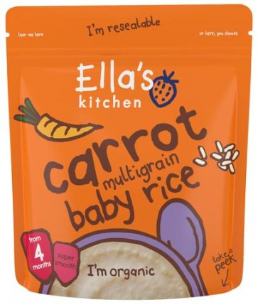 Carrot Multigrain Baby Rice