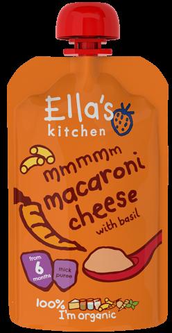 Macaroni Cheese with Basil