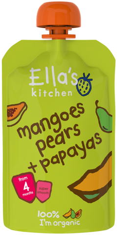 Mangoes, Pears & Papayas