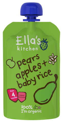 Pears, Apples & Baby Rice