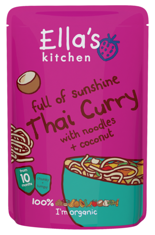 full of sunshine Thai Curry with Noodles & Coconut
