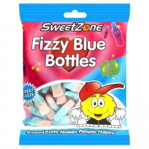 SWEETZONE HALAL FIZZY BLUE BOTTLES