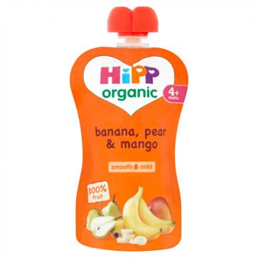 Banana, Pear & Mango