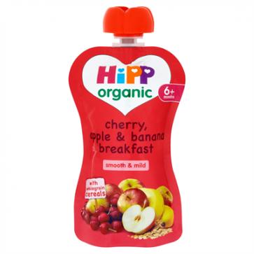 Cherry, Apple & Banana Breakfast