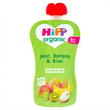 Pear, Banana & Kiwi
