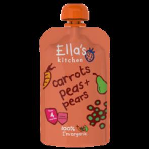 Carrots, Peas & Pears