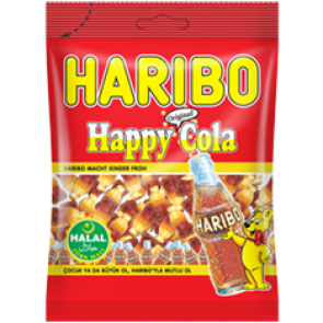 HARIBO HALAL COLA BOTTLES