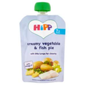 Creamy Vegetable & Fish Pie